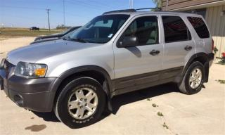 Used 2006 Ford Escape XLT 4X4 for sale in Brunkild, MB