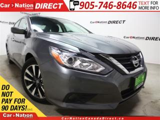 Used 2016 Nissan Altima 2.5 SV| BACK UP CAMERA| SUNROOF| for sale in Burlington, ON
