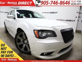 Used 2012 Chrysler 300 SRT8| RED LEATHER| LOW KM'S| PANO ROOF| NAVI| for sale in Burlington, ON