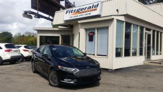 Used 2017 Ford Fusion SE - AWD! LEATHER! NAV! BACK-UP CAM! for sale in Kitchener, ON