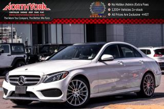 Used 2015 Mercedes-Benz C-Class C400|4MATIC|Prem.,&MultimediaPkgs|Sunroof|Nav.|Leather|19