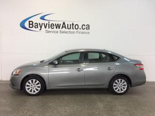 Used 2013 Nissan Sentra SV- PURE DRIVE! PUSH BTN STRT! A/C! BLUETOOTH! for sale in Belleville, ON