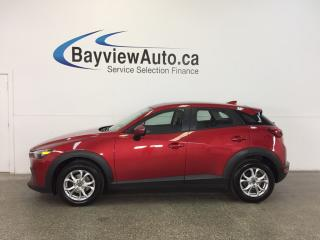Used 2016 Mazda CX-3 GS- SKYACTIV! ROOF! HTD SEATS! REV CAM! BLUETOOTH! for sale in Belleville, ON