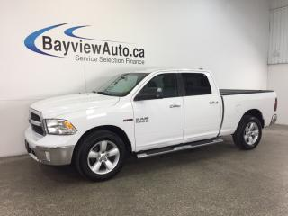 Used 2014 Dodge Ram 1500 SLT- 4x4! CREW! NAV! REV CAM! TOW/HAUL! ECODIESEL! for sale in Belleville, ON