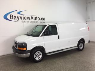 Used 2015 GMC Savana 2500 - 4.8L V8! A/C! LOW KM'S! for sale in Belleville, ON
