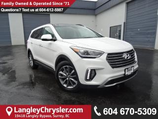 Used 2017 Hyundai Santa Fe XL Luxury *ACCIDENT FREE*ONE OWNER*LOCAL BC TRUCK* for sale in Surrey, BC