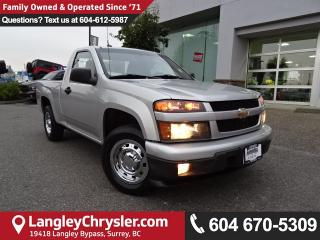 Used 2010 Chevrolet Colorado LT *ACCIDENT FREE * LOCAL BC TRUCK * for sale in Surrey, BC