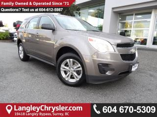 Used 2010 Chevrolet Equinox LS *LOCAL BC SUV*DEALER SERVICED* for sale in Surrey, BC
