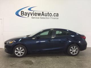 Used 2014 Mazda MAZDA3 GX- SKYACTIV! PUSH BTN STRT! A/C! BLUETOOTH! for sale in Belleville, ON