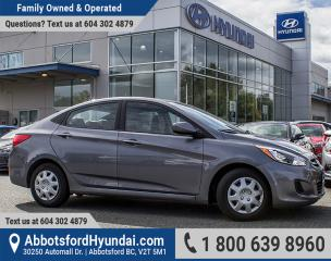 Used 2016 Hyundai Accent GL Accident Free for sale in Abbotsford, BC