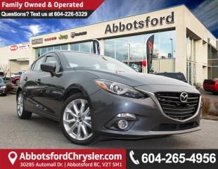 Used 2016 Mazda MAZDA3 GT ACCIDENT FREE! for sale in Abbotsford, BC