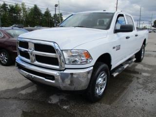 Used 2015 Dodge Ram 2500 3/4 TON WORK READY TRADESMEN EDITION 6 PASSENGER 5.7L - V8.. 4X4.. CREW.. LONG BOX.. U-CONNECT SYSTEM.. AUX/USB INPUT.. FACTORY WARRANTY.. for sale in Bradford, ON