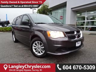Used 2015 Dodge Grand Caravan SE/SXT *ACCIDENT FREE*ONE OWNER*LOCAL BC CAR* for sale in Surrey, BC