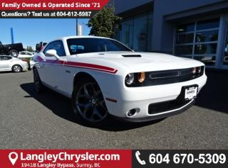 Used 2016 Dodge Challenger R/T *ACCIDENT FREE * LOCAL BC CAR * for sale in Surrey, BC