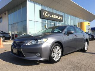 Used 2013 Lexus ES 350 Leather and Navigation Package for sale in Brampton, ON