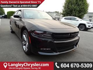 New 2018 Dodge Charger SXT TorqueFlite eight-speed automatic transmission coupled with the 3.6-litre V6 for sale in Surrey, BC