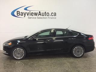 Used 2017 Ford Fusion SE- AWD|ECOBOOST|ROOF|HTD LTHR|NAV|REV CAM|SYNC! for sale in Belleville, ON