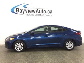Used 2017 Hyundai Elantra - 2L! AUTO! HEATED SEATS! BLUETOOTH! CRUISE! A/C! for sale in Belleville, ON