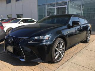Used 2016 Lexus GS 350 F sport Series 2 for sale in Brampton, ON