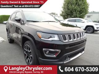 New 2018 Jeep Compass Limited 4X4 for sale in Surrey, BC