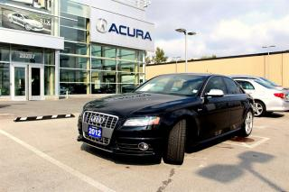 Used 2012 Audi S4 3.0T Prem S tronic qtro for sale in Langley, BC