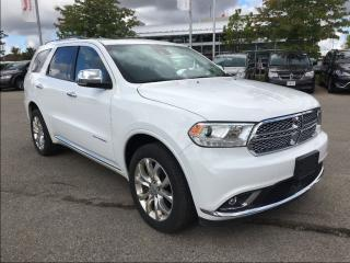 Used 2016 Dodge Durango CITADEL**TRAILER TOW GROUP**DVD ENTERTAINMENT** for sale in Mississauga, ON