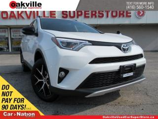 Used 2016 Toyota RAV4 SE | AWD | LEATHER | SUNROOF | NAVI | B/U CAM for sale in Oakville, ON