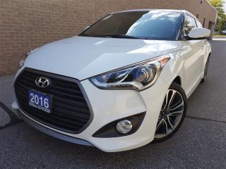 Used 2016 Hyundai Veloster Turbo-Manual-Pristine Condition for sale in Mississauga, ON