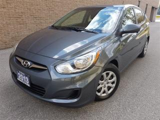 Used 2013 Hyundai Accent GL-new tires-new brakes-super clean for sale in Mississauga, ON