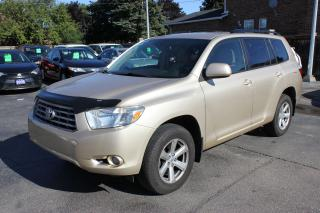 Used 2009 Toyota Highlander LE AWD 7 Passenger for sale in Brampton, ON