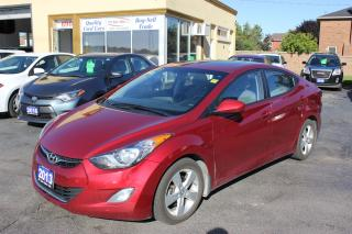 Used 2013 Hyundai Elantra GL Sunroof Bluetooth for sale in Brampton, ON