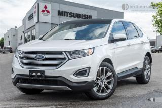 Used 2017 Ford Edge TITANIUM | CLEAN CARPROOF | PANO | BLIS| for sale in Mississauga, ON