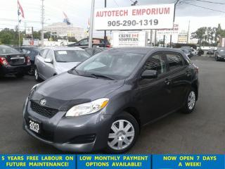 Used 2013 Toyota Matrix Auto All Pwr/Bluetooth &GPS*$49/wkly for sale in Mississauga, ON