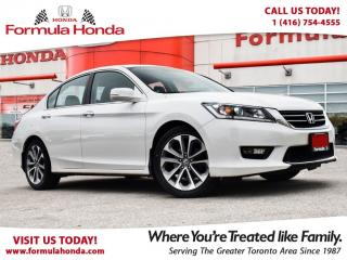 Used 2014 Honda Accord Sedan SPORT | HEATED SEATS | REAR-VIEW CAMERA for sale in Scarborough, ON