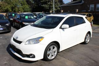 Used 2012 Toyota Matrix S Sunroof Bluetooth for sale in Brampton, ON