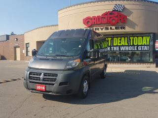 Used 2016 RAM Cargo Van PROMASTER 2500 HIGH ROOF for sale in Scarborough, ON