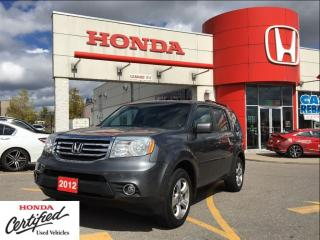 Used 2012 Honda Pilot EX-L, SOLD for sale in Scarborough, ON