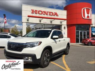 Used 2017 Honda Ridgeline Touring, might as well be brand new for sale in Scarborough, ON