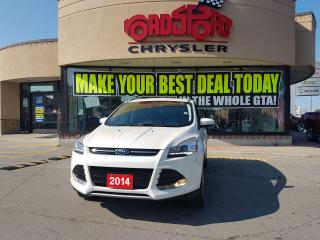 Used 2014 Ford Escape Titanium PANO ROOF LEATHER NAVI REAR CAM POWER HAT for sale in Scarborough, ON