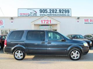 Used 2008 Chevrolet Uplander Extended, Alloys, WE APPROVE ALL CREDIT for sale in Mississauga, ON