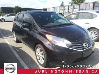 Used 2014 Nissan Versa Note SL, NAVi, 6 YEAR / 160,000 KM WARRANTY ! for sale in Burlington, ON