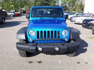 Used 2014 Jeep Wrangler SPORT for sale in Quesnel, BC