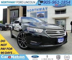 Used 2015 Ford Taurus SEL | NAV | HEATED SEATS | REAR CAM | for sale in Brantford, ON