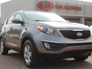 Used 2015 Kia Sportage LX, HEATED SEATS, BACKUP CAM, CRUISE CONTROL, BLUETOOTH, USB / AUX for sale in Edmonton, AB