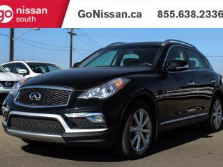 Used 2015 Infiniti QX50 GREAT SHAPE, SUNROOF, HEATED SEATS, LEATHER!! for sale in Edmonton, AB