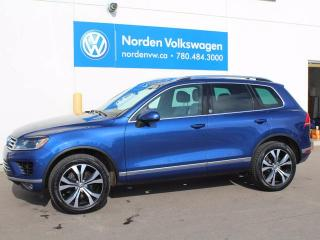 Used 2017 Volkswagen Touareg 3.6 Wolfsburg for sale in Edmonton, AB