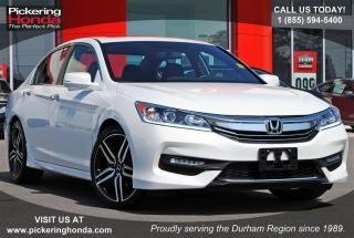 Used 2017 Honda Accord Sport SUNROOF DUAL EXHAUST BLUETOOTH for sale in Pickering, ON