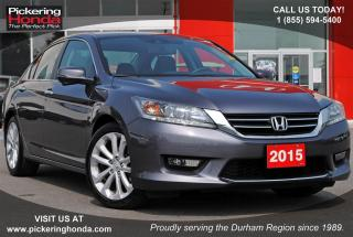 Used 2015 Honda Accord Touring LEATHER NAVI SUNROOF for sale in Pickering, ON