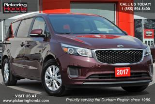 Used 2017 Kia Sedona LX REAR CAMERA BLUETOOTH HEATED SEATS for sale in Pickering, ON