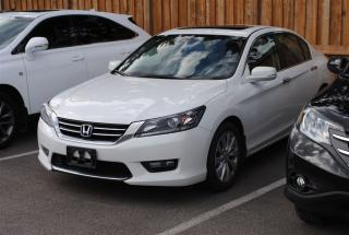 Used 2015 Honda Accord EX-L LEATHER SUNROOF REAR & SIDE CAMERA for sale in Pickering, ON